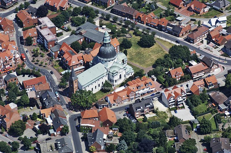 Harener Innenstadt mit Kirche