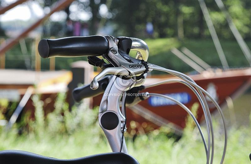Fahrrad vor Schifffahrtsmuseum