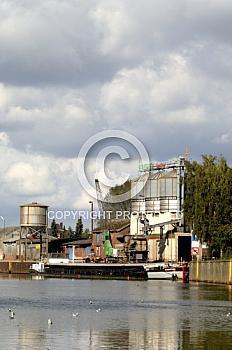 Güterhafen in Meppen