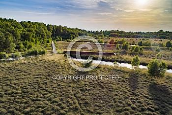Luftaufnahme der Esterweger Dose