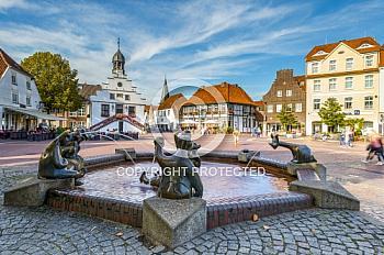 Marktplatz in Lingen