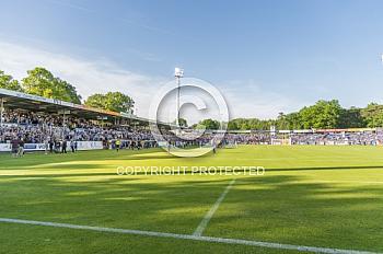 Das Aufstiegsspiel von Meppen gegen Mannheim