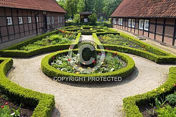 Garten des Heimatmuseums in Haselünne