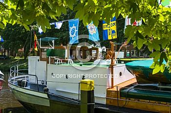 Schiff auf Haren-Rütenbrock-Kanal