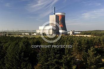 Altes Dampfkraftwerk in Hüntel