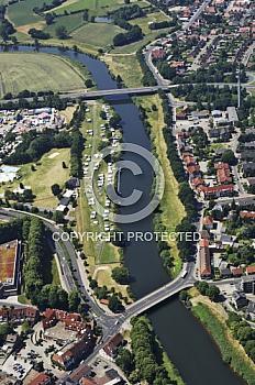 Emsbrücken in Meppen