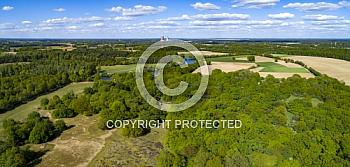 Luftaufnahme des Borkener Paradies