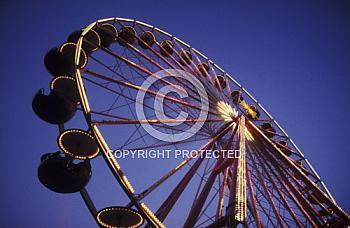 Riesenrad auf Meppener Kirmes