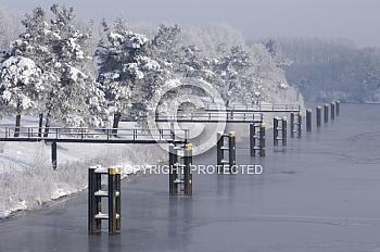 Schiffsanleger am Dortmund-Ems-Kanal