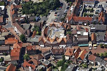 Luftaufnahme von Meppen