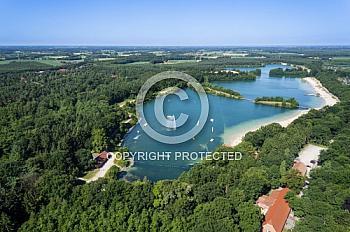 Luftaufnahme des Dankernsees