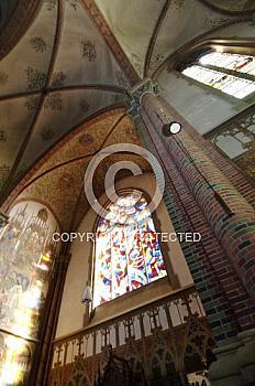 Kirchengewölbe der St. Antonius Kirche in Papenburg