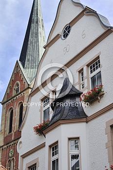 Hausfassade in Lingen