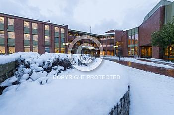 Eine Winteraufnahme vom Landkreis Emsland