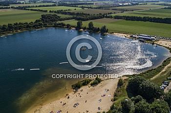 Heeder See mit Wasserskianlage