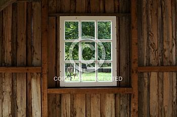 Fenster der Meppener Herrenmühle
