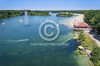Luftaufnahme vom Dankernsee