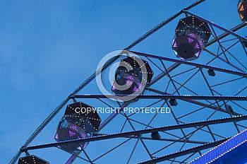 Riesenrad auf dem Weihnachtsmarkt Meppen