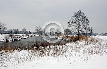 Winterlandschaft bei Meppen