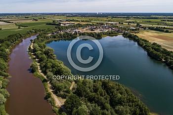 Luftaufnahme des Spieksee