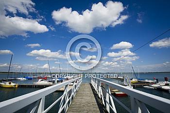 Brücke am Speicherbecken Geeste