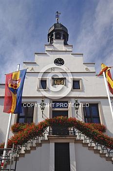 Rathaus in der Ligener Innenstadt