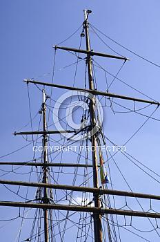 Masten der Friederike von Papenburg