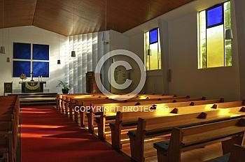 Innenraum der Johanneskirche in Lingen