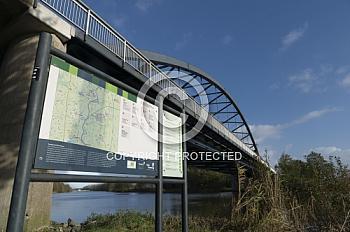 Emsbrücke in Heede