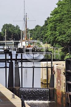 Schleuse am Haren-Rütenbrock-Kanal