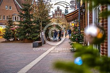 Fußgängerzone in Meppen