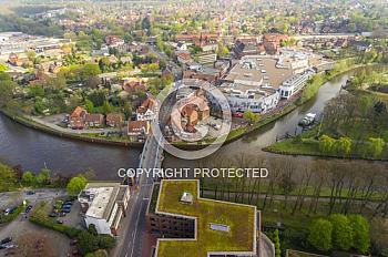 Luftbild vom Ostermarkt Meppen