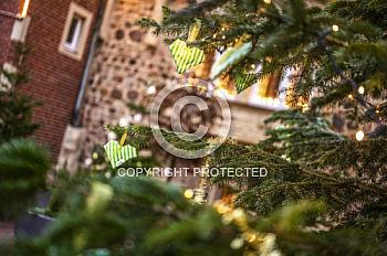 Weihnachtsbaum in der Meppener Innenstadt