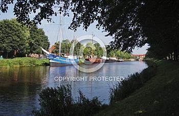 Schifffahrtsmuseum am Haren-Rütenbrock-Kanal in Haren