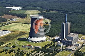 Dampfkraftwerk in Hüntel