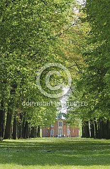 Allee im Schlosspark Clemenswerth in Sögel