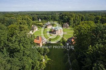 Luftaufnahme Schloss Clemenswerth